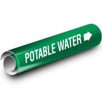 Potable Water Kwik-Koil Pipe Markers