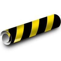 Striped Kwik-Koil Pipe Markers