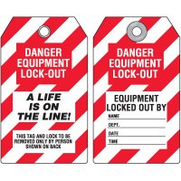 Locked Life On The Line Tag