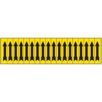 Machine Hazard Labels - Arrow Symbol