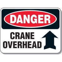 Crane Safety Signs - Danger Crane Overhead