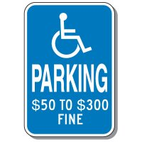 State-Specific Handicap Parking Signs - Missouri