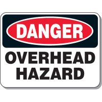 Giant Clearance & Crane Signs - Danger Overhead Hazard