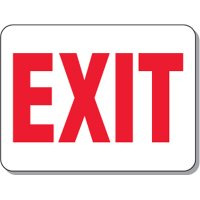 Fire Emergency Signs - Exit