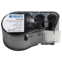 Brady BMP51/BMP41 M-49-498 Label Cartridge - Black on White