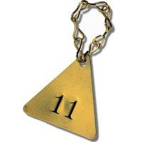 No. 16 Brass Jack Chain Valve Tag Fastener