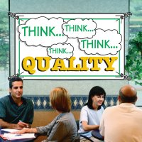 Think Quality Productivity Banners