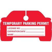 Car Hanging Parking Permits