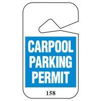 Carpool Parking Permits