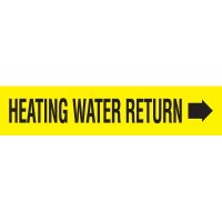 Heating Water Return Pipe Markers