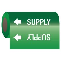 Supply - Self-Adhesive Pipe Markers-On-A-Roll