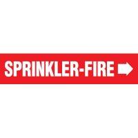 Sprinkler-Fire Pipe Markers