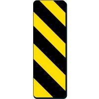 Hazard Strips Sign