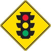 Traffic Signal Symbol Sign
