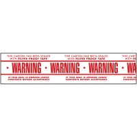 Warning Shipping Tape Nadco PPW-2-55WP