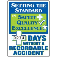 Setting The Standard Recordable Accident Scoreboard