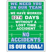 Need You On Our Team Scoreboard