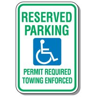 State-Specific Handicap Parking Signs - Arkansas