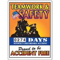 Teamwork & Safety Scoreboard