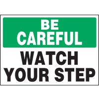 Watch Your Step Vinyl Label