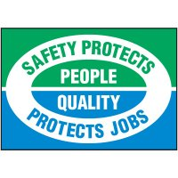 Safety Protects People Label