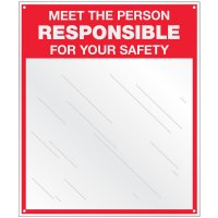 Safety Slogan Mirror Signs - Meet The Person