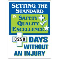 Setting The Standard Without Injury Scoreboard