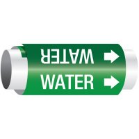 Water - Setmark® Snap-Around Pipe Markers