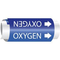 Oxygen - Setmark® Snap-Around Pipe Markers