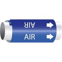 Air - Setmark® Snap-Around Pipe Markers