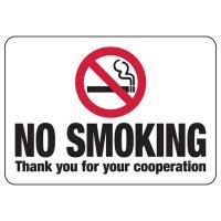 Maine No Smoking Sign