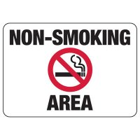 Non-Smoking Area Sign