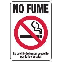 Kansas Spanish No Smoking Sign