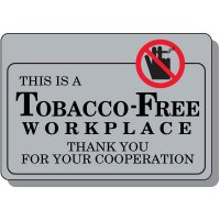 Tobacco-Free Workplace Sign