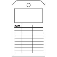 Blank Date Tag