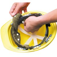 Occunomix Terry Toppers® Snap-On Sweatbands for Hard Hats