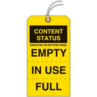 Content Status Tear-Off Tags