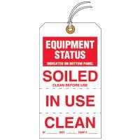 Equipment Status Tear-Off Jumbo Tags