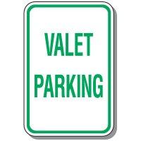 Visitor Parking Signs - Valet Parking