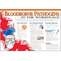 Bloodborne Pathogens In Workplace Wallchart