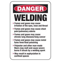 Danger Welding Safety Sign