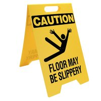 Slippery Floor Portable Floor Stand