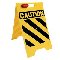 Caution Floor Stand