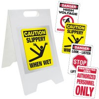 Changeable Message Floor Stand