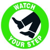 Floor Safety Signs - Watch Your Step