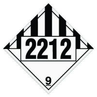 2212 Asbestos - DOT Placards
