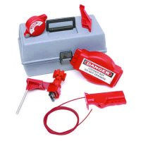 Brady 99320 Valve Lockout Toolbox Kit