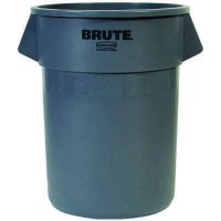 Brute® Round Garbage Can