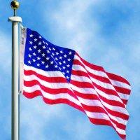 Outdoor U.S. Flag