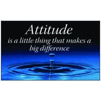 Attitude Is Workplace Banner